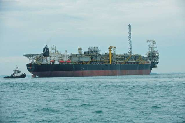 The Floating Production, Storage and Offloading (FPSO) Vessel.